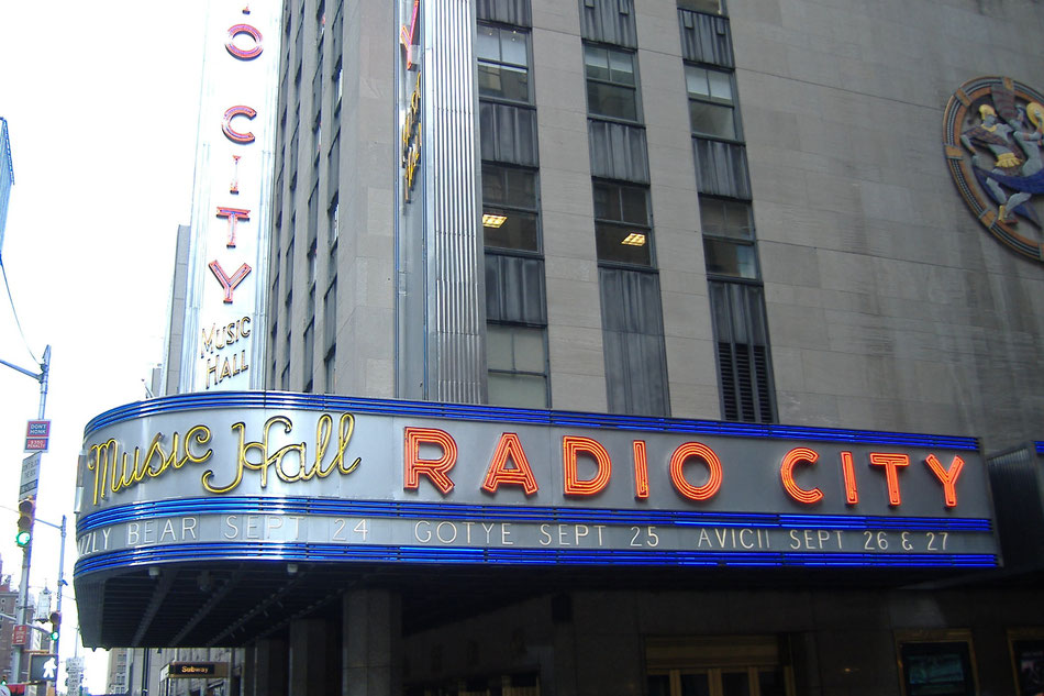 Bild: Manhattan Radio City Music Hall
