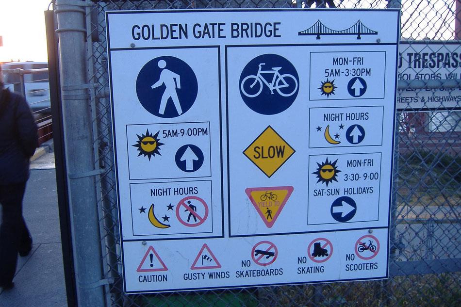 Bild: Golden Gate Bridge San Francisco