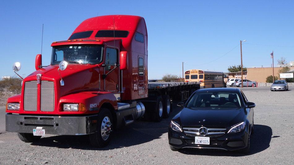 Bild: Mercedes-Benz C-Class in Texas