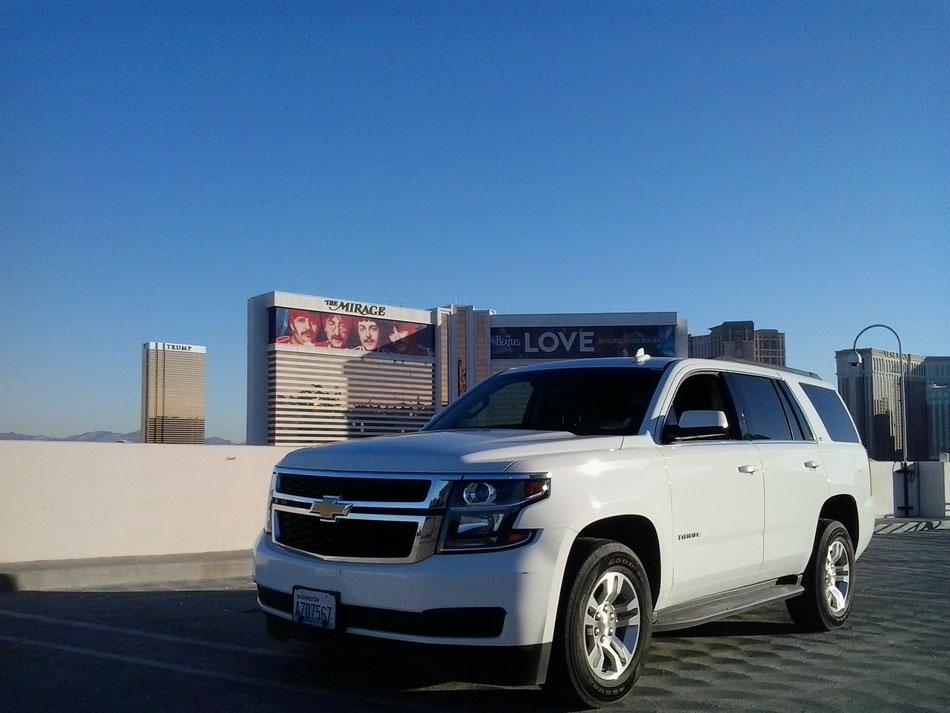 Bild: HDW-USA, Las Vegas, Los Angeles, Highway, Route 66, Amerka, Mister T. und der Weiße Büffel, Amerika, Trup Tower, Mirage
