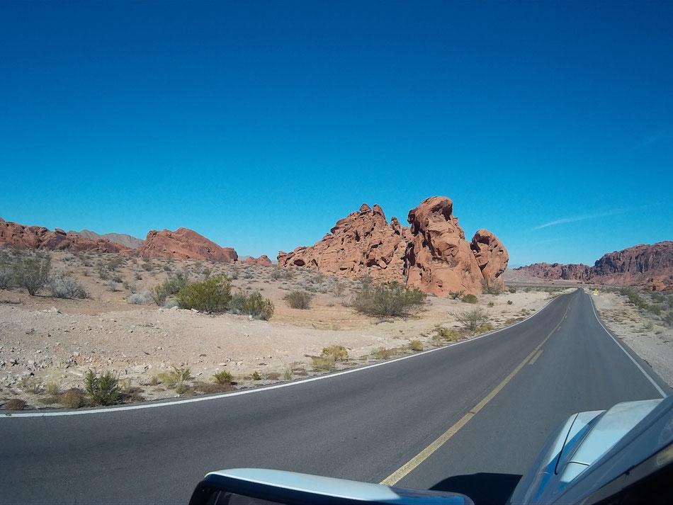 Bild: HDW-USA, Las Vegas, Highway, Route 66, Amerka, Mister T. und der Weiße Büffel, Amerika,