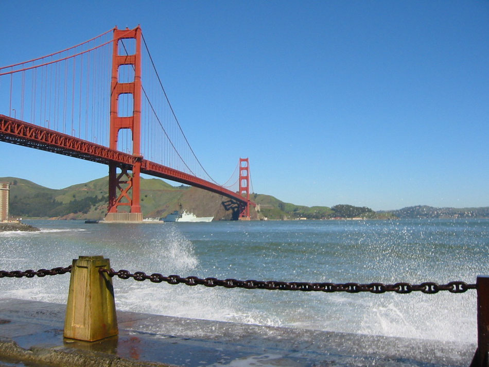 Bild: Golden Gate Bridge in San Francisco