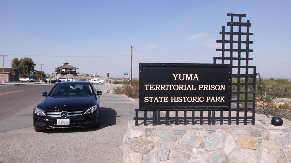 Bild: USA, Road Trip, Yuma, Prison, Mercedes-Benz, C-Class, HDW