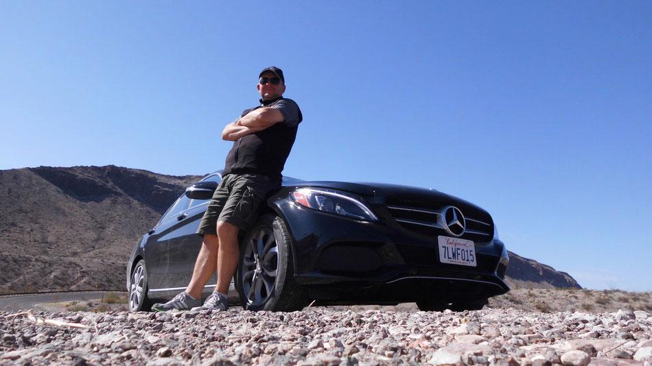 Bild: Mercedes-Benz C-Class, HDW, Hans-Dieter Wuttke, Death Vealley