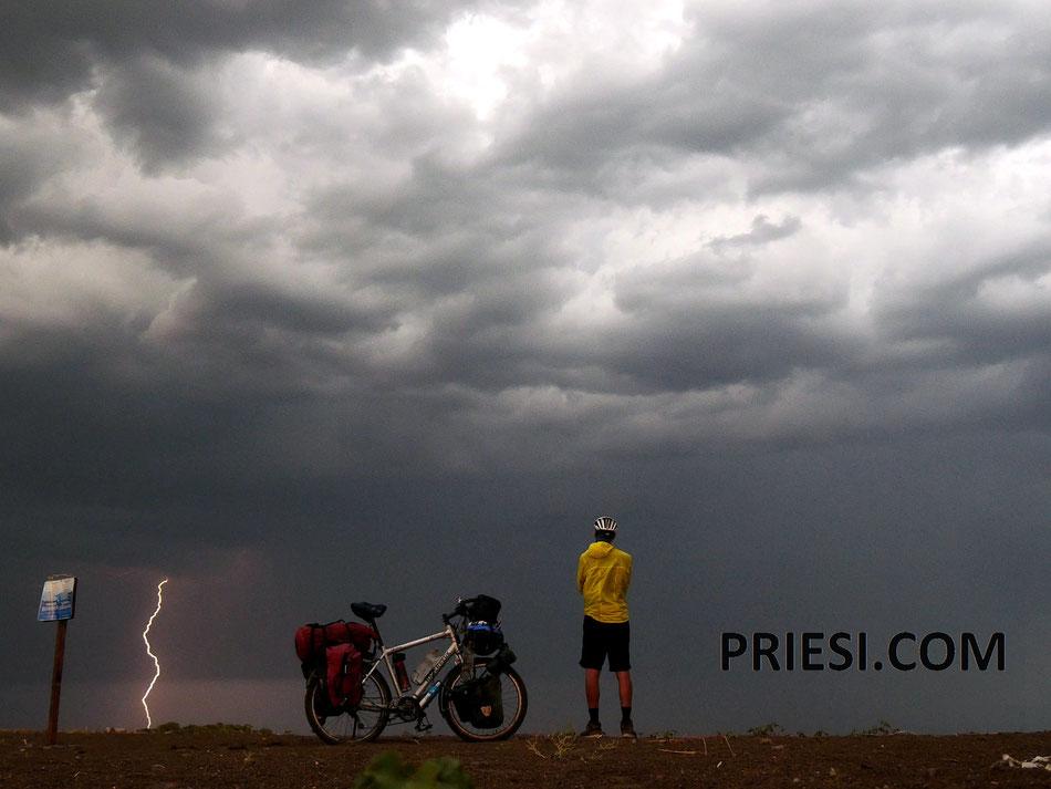 Eines meiner Lieblingsbilder - ich liebe es Gewitter zu beobachten!