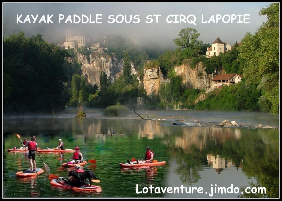 Location,réservation:  canoë kayak et paddle kayak, Saint Cirq Lapopie, Tour de Faure, tourisme,France,Occitanie