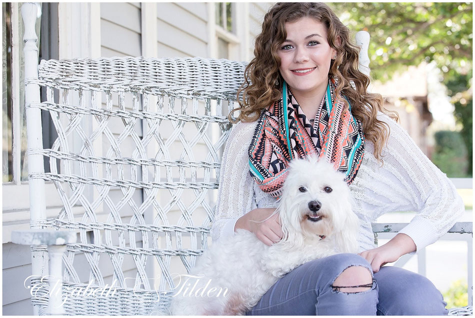 McKinney senior; Chestnut Square; Plano family photographer