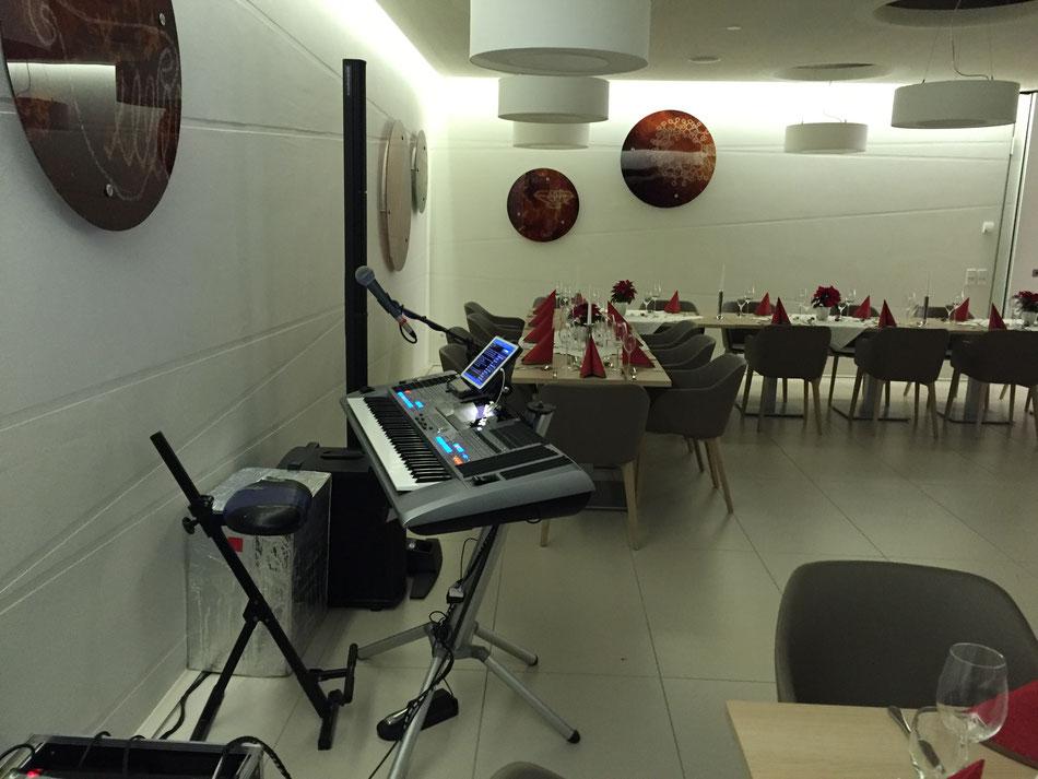 Alleinunterhalter und DJ für Weihnachtsfeiern im Raum Mannheim