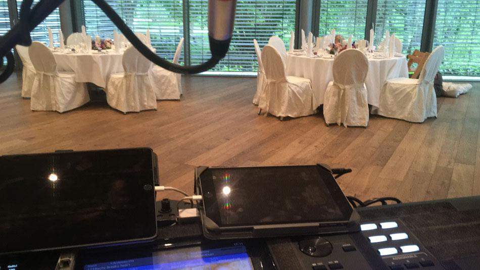 Hochzeit in Hotel als DJ