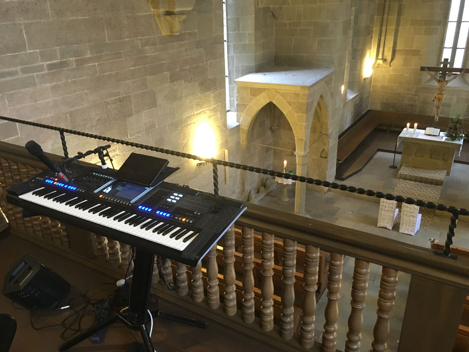 Hochzeitssänger und Pianist für kirchliche Trauungen in Darmstadt