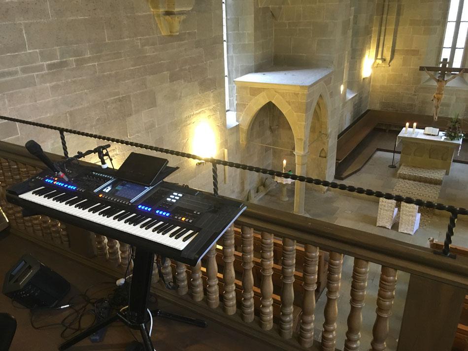 Hochzeitssänger und Pianist für kirchliche Trauungen in Aschaffenburg