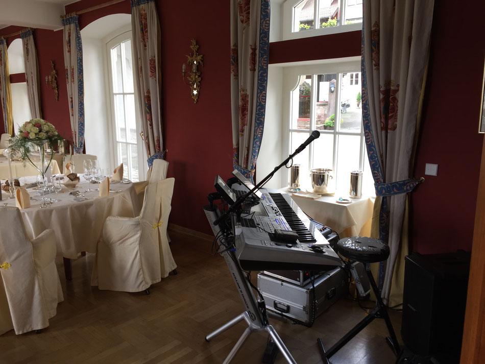 Dinnermusik, Loungemusik, zum Abendessen mit Florian Geibel