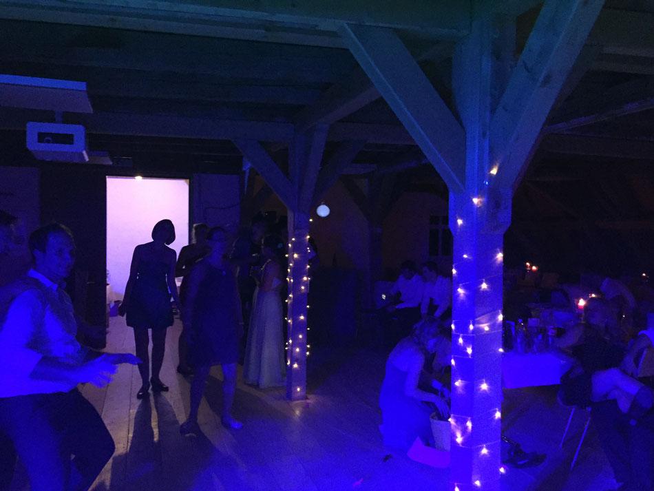 Als DJ auf einer Hochzeit in der Alten Mühle
