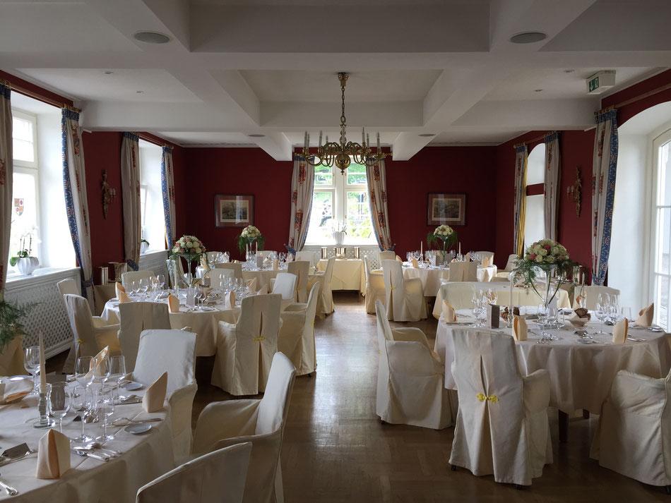 schönes Ambiente auf einer Hochzeit in Gernsbach