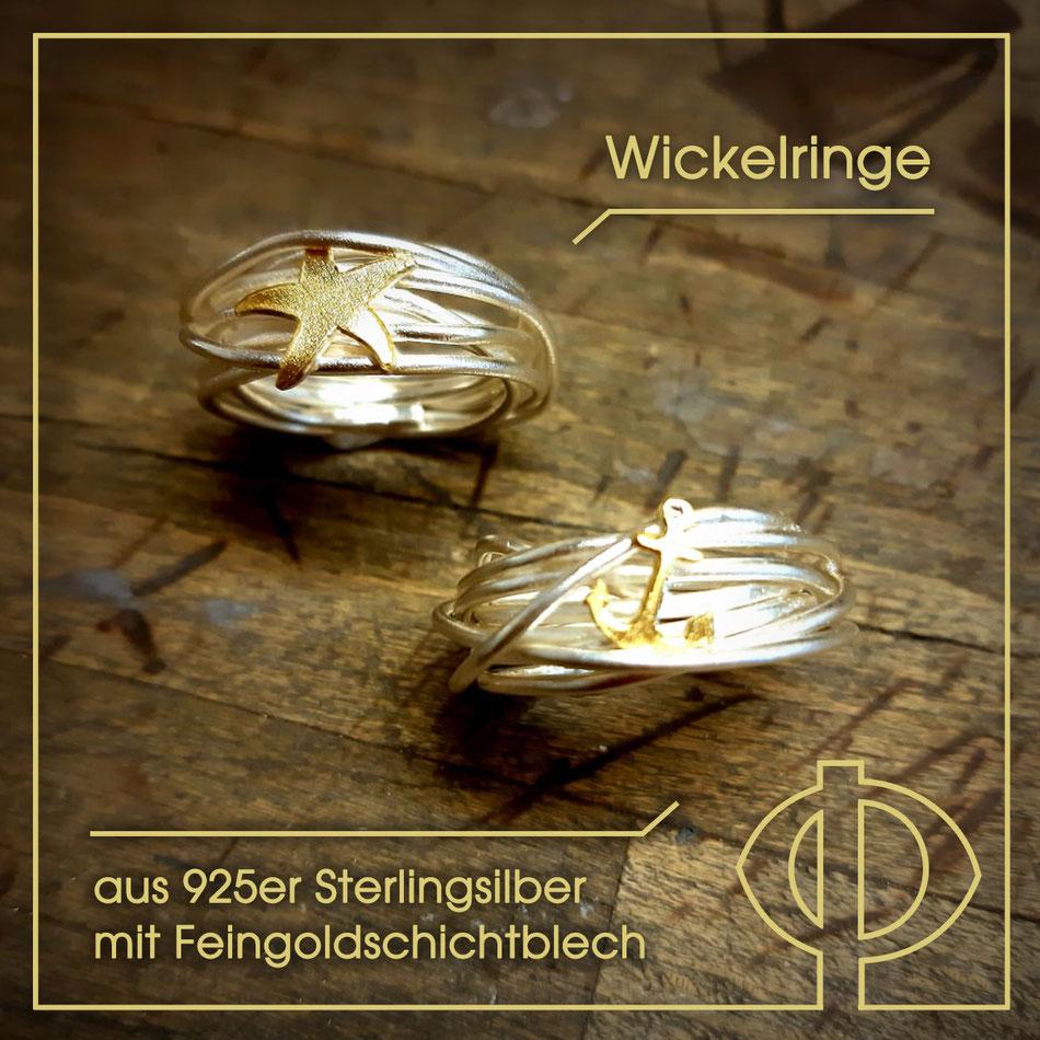 Silberschmuck-Unikate in der Goldschmiede P. Oellerich, Bremerhaven