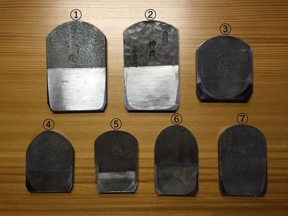 鉋身 鋼の種類
