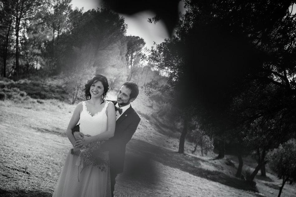 Vestit de núvia: l'Armari d'Eco. Model: Natàlia Anitua. Fotografia: Mercè Rial