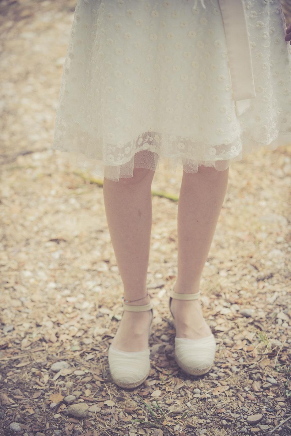 Vestit: l'Armari d'Eco. Model: Núria Soldevila. Fotografia: Oriol Segon. Sabates: L'Espardenyeria