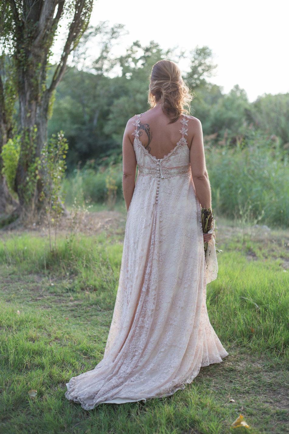 Vestit: l'Armari d'Eco./ Model: Alba Forradellas.