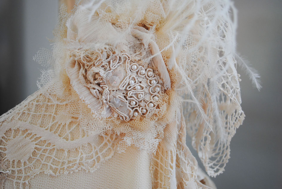 Vestit núvia: l'Armari d'eco. Model: Carme