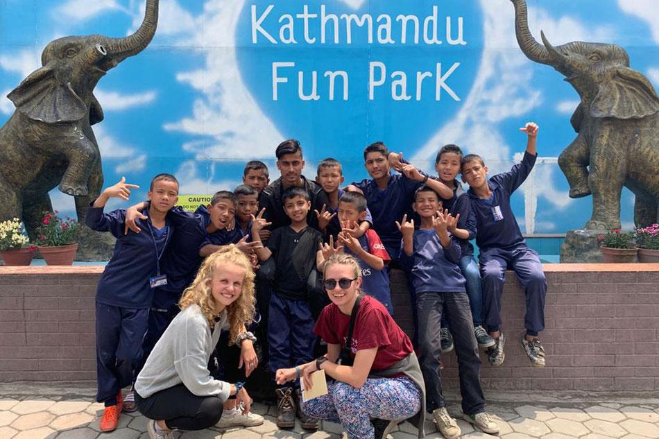 Gruppe Kathmandu Fun Park