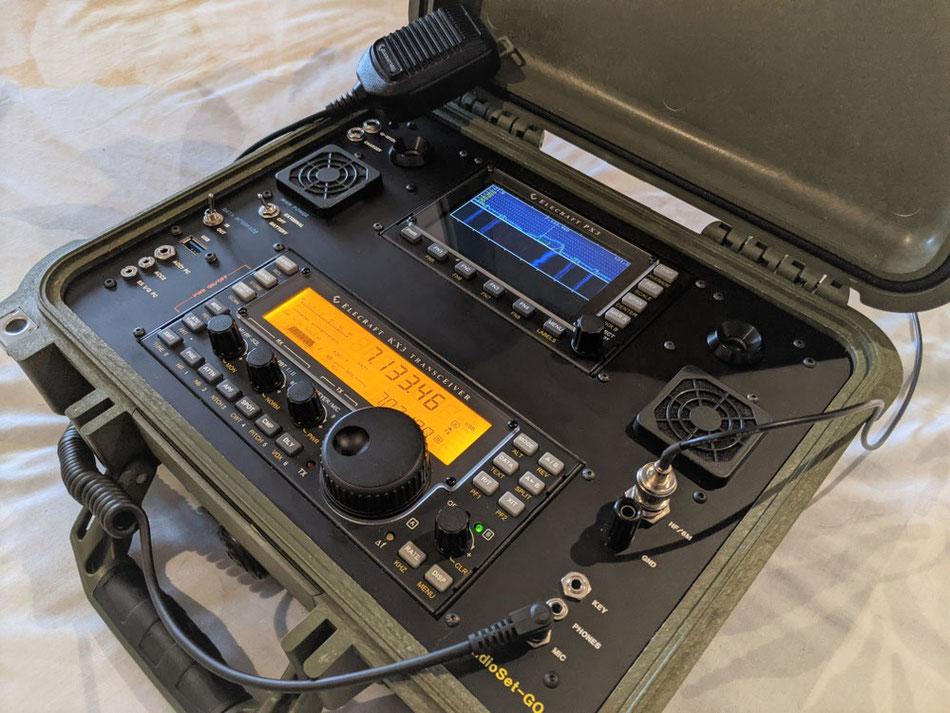 Radioset-go box KX3