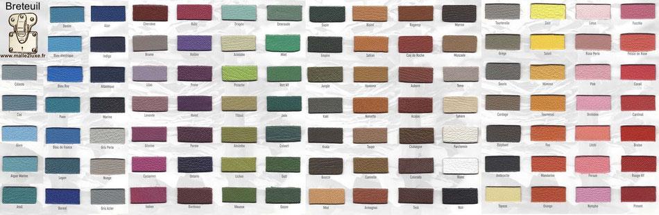 couleur cuir chèvre ecrin à bijoux 100 coloris malle2luxe