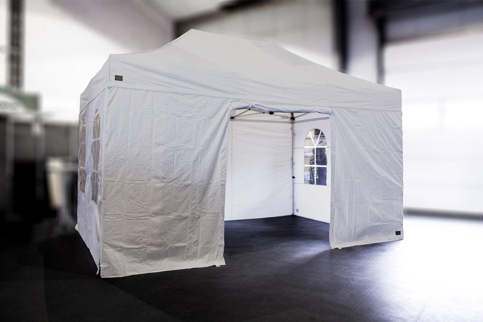 Faltzelt 3 x 4,5 m - Bild: MVL Vertrieb GmbH