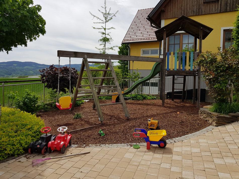 Kinderfreundliche Buschenschänke Südsteiermark: Dreisiebner Stammhaus