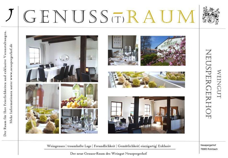 Genussraum Weingut Neuspergerhof