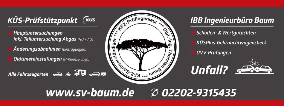 IBB - Ingenieurbüro Baum - Ihr KFZ-Sachverständger und Unfallgutachter in Bergisch Gladbach, Refrath, Moitzfeld und Bensberg