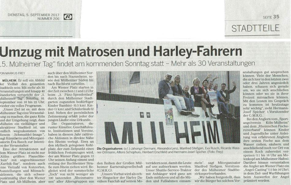 Kölner Rundschau 5.9.2017