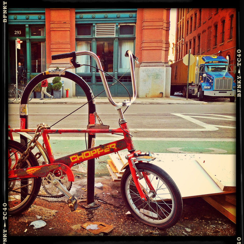 Chopper Bike in SoHo New York City