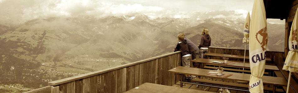 Aussicht Alm Schweiz Berge