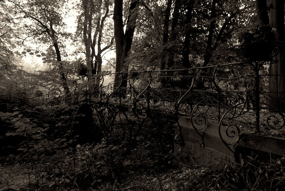 Brücke im Ohlsdorfer Friedhof