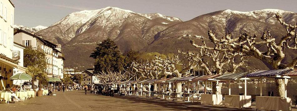 Ascona Tessin Fotografie Winter