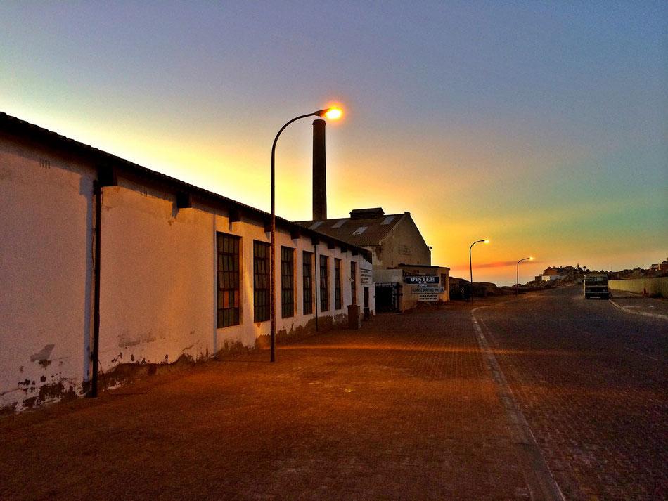 Lüderitz, Shearwater Oyster Bar. Wer Austern mag kommt hier nicht dran vorbei.