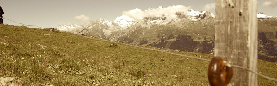 Schweiz Berge Schwee Wandern