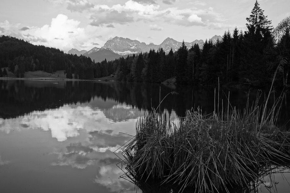 Wagenbrüchsee Karwendel Badesee
