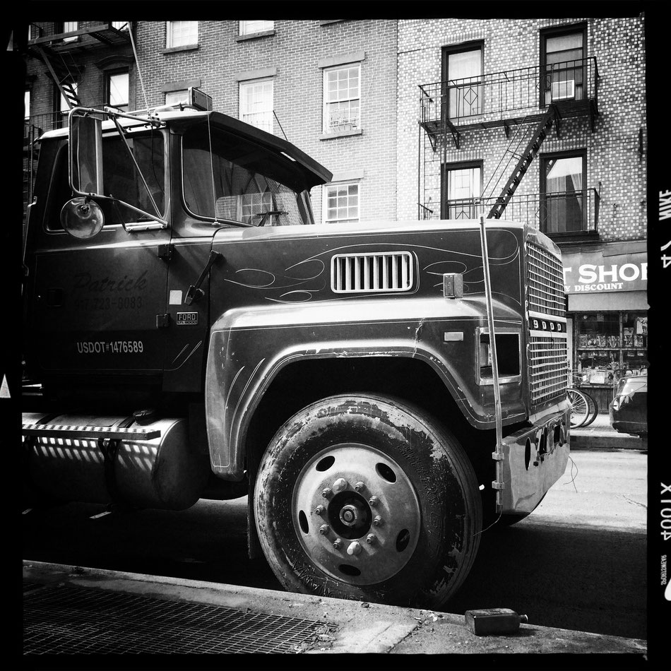 Ford Truck in Brooklyn, NYC.