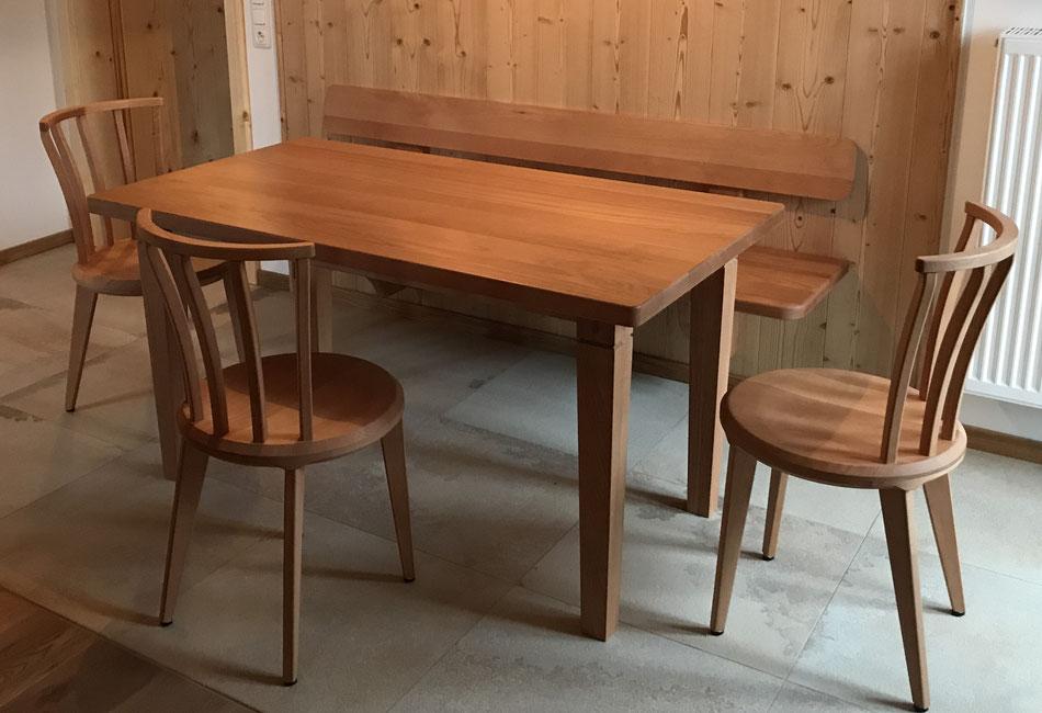 dining setup chair Mayondo Kramhöller