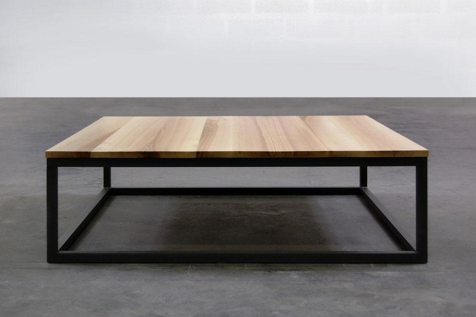 Table basse tubes artmeta mobilier sur mesure for Table basse grand format
