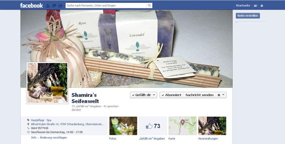 www.facebook.com/shamira'sSeifenwelt