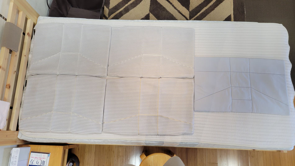 オーダー枕に使用する側生地5種