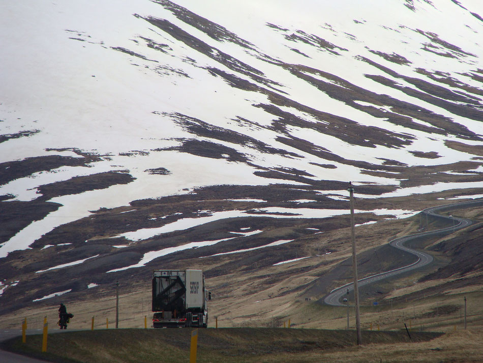 On the way to Akureyri.