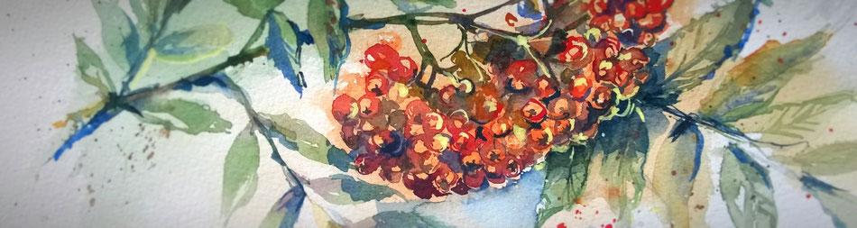 acquarello d'autunno, corsi in Friuli, scuola di pittura