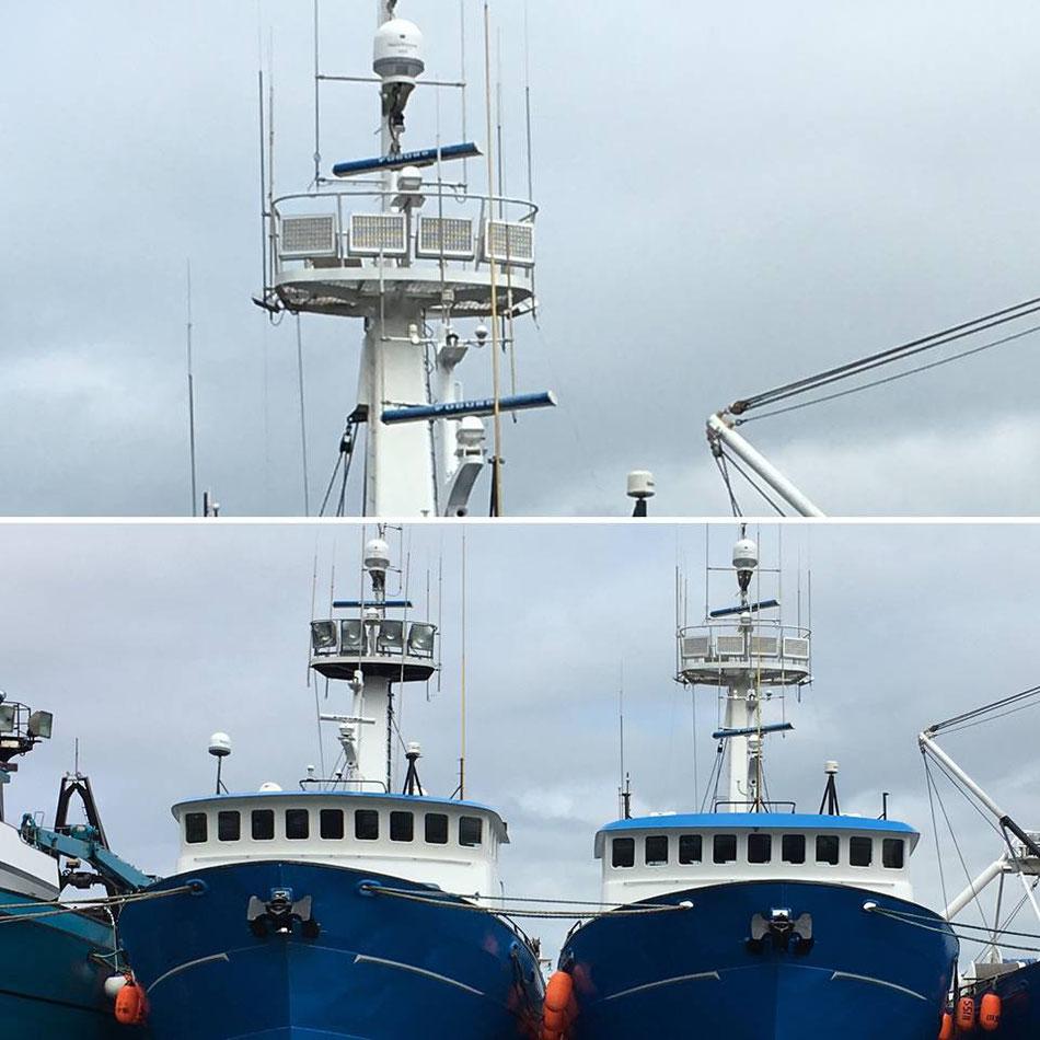BBM Marine Pro zout-zeewater, corrosie bestendige Ledarmaturen IP68 voor visserij vissersboten vissersschepen BBM Ledproducts