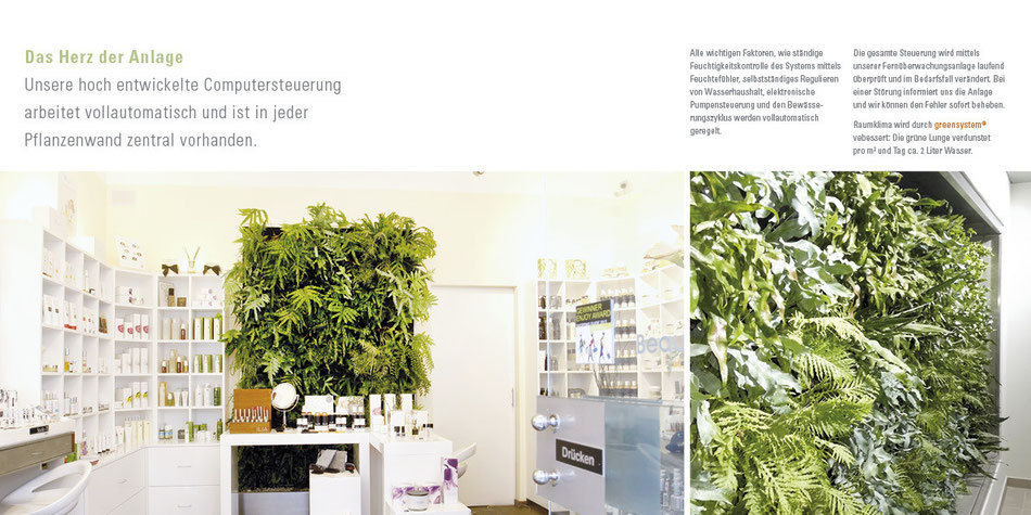 Kosmetikgeschäft oder Bürogebäude