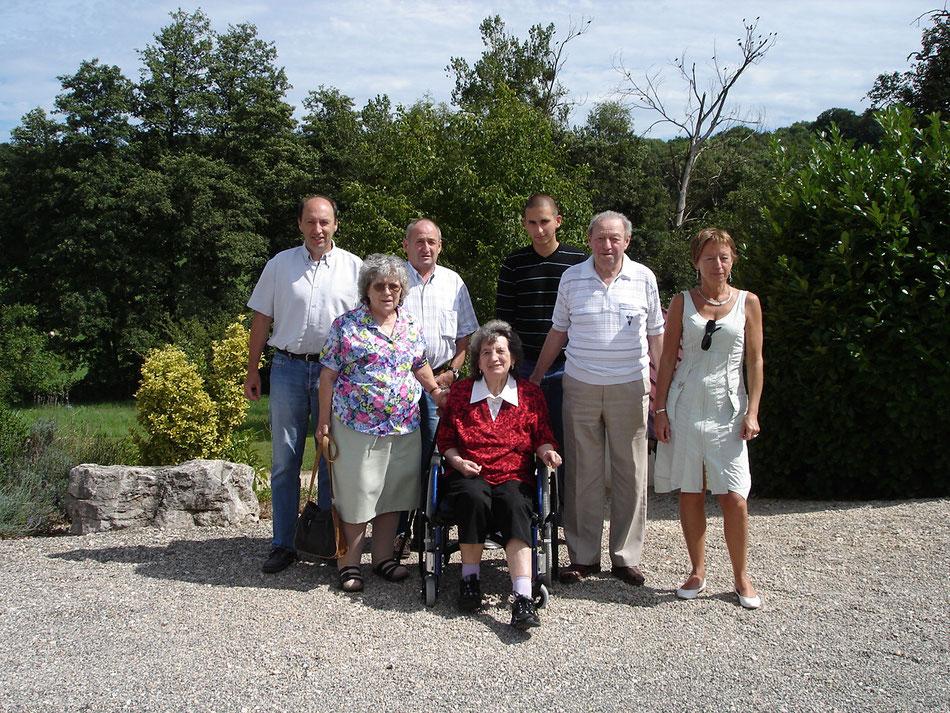 A HEIMERSDORF en 2008, pour les 80 ans d'Alice et de René