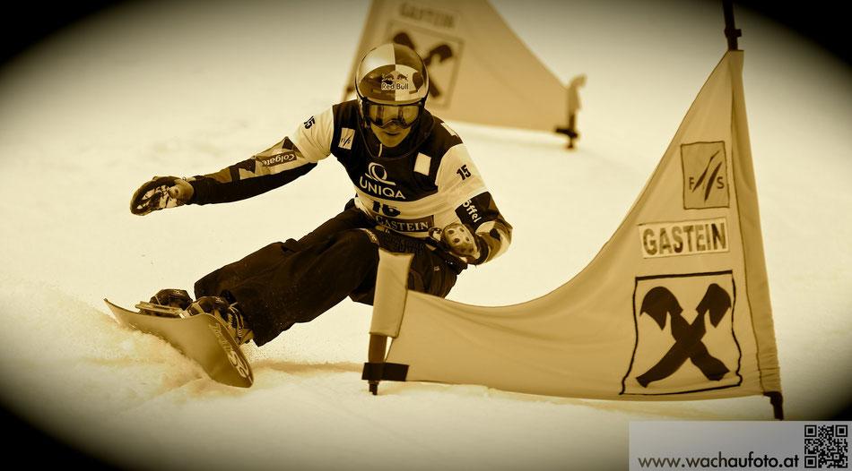 Snowboard Weltcup Gastein 2014 im Bild Benjamin Karl